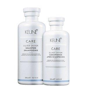 Keune Silver Savior - Kit Shampoo e Condicionador