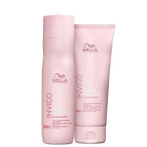 Wella Invigo Blonde Recharge Kit Shampoo e Condicionador
