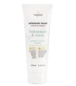 WNF Vegana Esfoliante Facial Hidratação e Detox 100ml