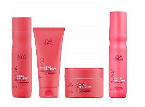 Wella Invigo Color Brilliance Kit Sh Cond Másc e Leave-in