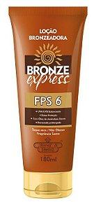 Flores e Vegetais Loção Bronzeadora Bronze Express FPS6 180g