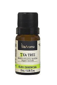 Via Aroma Óleo Essencial Tea Tree - Melaleuca 10ml