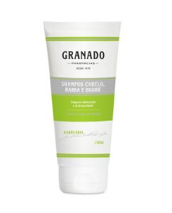 Granado Barbearia Shampoo Cabelo, Barba e Bigode 150ml