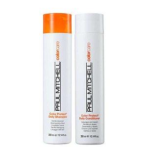 Paul Mitchell Color Care Protect - Kit Shampoo e Condicionador