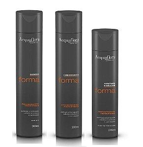 Acquaflora Forma Kit Shampoo Condicionador e Modelador de Cachos