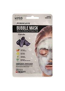 Kiss Máscara Facial Bubble Mask - Carvão Purificante
