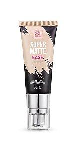 Kiss Base Líquida Super Matte 30ml - Cor Natural