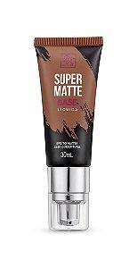 Kiss Base Líquida Super Matte 30ml - Cor Chocolate