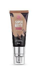 Kiss Base Líquida Super Matte 30ml - Cor Cappuccino