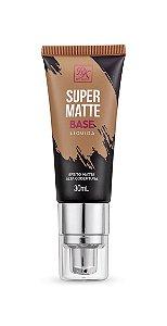 Kiss Base Líquida Super Matte 30ml - Cor Canela