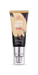 Kiss Base Líquida Super Matte 30ml - Cor Bege