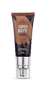 Kiss Base Líquida Super Matte 30ml - Cor Cacau
