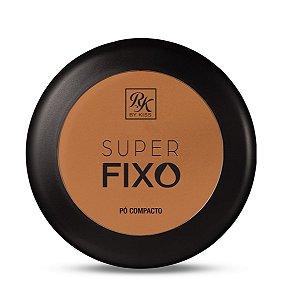 Pó Compacto Super Fixo Rk by Kiss - Cor Cacau