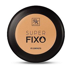 Pó Compacto Super Fixo Rk by Kiss - Cor Bege