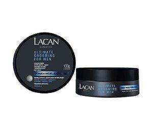 Lacan Ultimate Grooming For Men - Pomada Modeladora 2 em 1