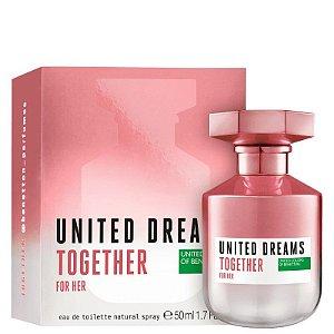 Perfume Benetton Together for Her 50ml Feminino