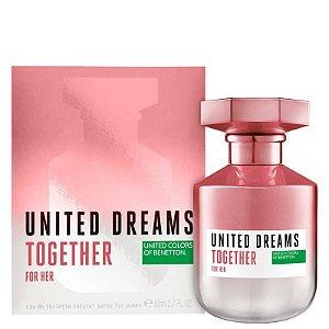 Perfume Benetton Together for Her 80ml Feminino