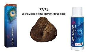 Wella Color Perfect Tinta 77/71 Lou Med Int + Welloxon 20vol