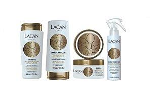Lacan Kit Sh Cond Masc e Spray Protetor Sol Mar Pisicna
