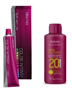 Amend Color Intensy Kit 8.4 Louro Claro Acobreado + Ox 20vol