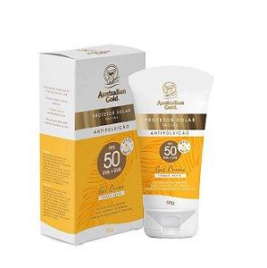 Australian Gold Protetor Solar Facial Antipoluição FPS50 50g