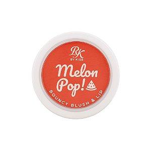 Melon Pop Bouncy Blush e Lip Rk by Kiss - Red Pop