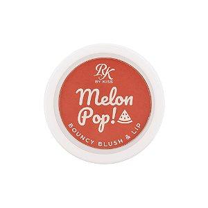Kiss Melon Pop Bouncy Blush e Lip - Summer Pop