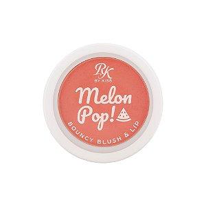 Melon Pop Bouncy Blush e Lip Rk by Kiss - Coral Pop