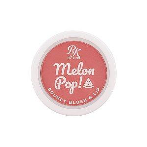 Kiss Melon Pop Bouncy Blush e Lip - Rosy Pop