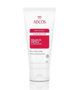 Adcos Clean Solution Peeling de Hortelã Iluminador 150g