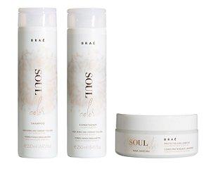 Braé Soul Color - Kit Shampoo Condicionador e Máscara
