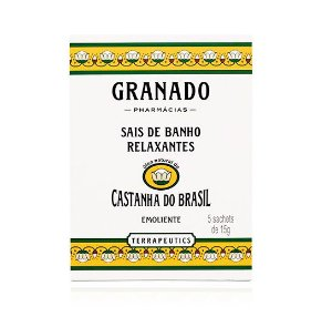 Granado Sais de Banho Castanha do Brasil 5 x 15g