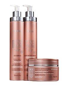 Amend Luxe Creations Blonde Care - Kit Shampoo Condicionador e Máscara