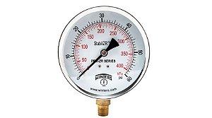 Manômetro D.60/Esc.0-4bar e 0-100PSI