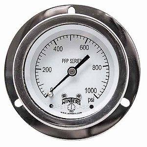 Manômetro INOX D.60/Esc.0-140bar e 0-2000PSI