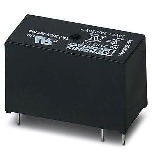 Relé de estado sólido miniatura - OPT-24DC/230AC/ 2 (caixa c/ 10)