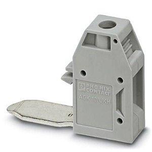 Borne para detector - AGK 10-UKH 50 (caixa c/ 10)