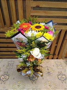 Buquê Flores do Campo Luxo