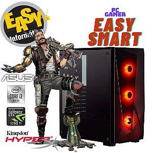 PC Gamer Easy Smart - Intel Core i3 - 16Gb - SSD 240GB - Placa de vídeo GTX1050 Ti 4Gb