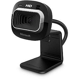 Câmera Webcam Microsoft Lifecam Hd 3000 1mp Hd 720p - Preto