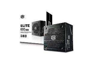 Fonte Elite V3 600W - Pfc Ativo