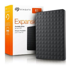 HD Externo 1Tb Seagate Expansion 2.5 USB 3.0 PRETO
