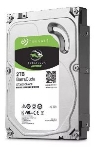 Hd Interno 2tb Seagate barracuda Sata 3 7200rpm
