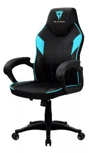 Cadeira Gamer  Thunderx3 - Ec1 Preto  / Ciano