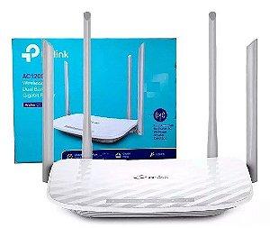 Roteador Wifi Gigabit Tp-link Archer C5 Ac1200 4 Antenas Usb