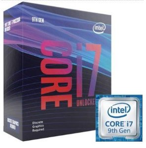 Processador Intel Core i7-9700KF Coffee Lake Refresh, Cache 12MB, 3.6GHz (4.9GHz Max Turbo), LGA 1151, Sem Vídeo