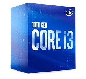 Processador Intel Core i3-10100F, Cache 6MB, 4.30 GHz, LGA 1200
