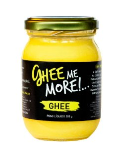 MANTEIGA CLARIFICADA - GHEE ME MORE - NATURAL