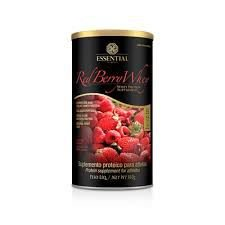 RED BERRY WHEY - LATA - ESSENTIAL NUTRITION