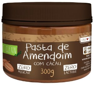 Pasta de Amendoim com cacau - Eat Clean